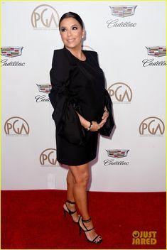 Kerry Washington & Pregnant Eva Longoria Glam Up for Producers Guild Awards 2018
