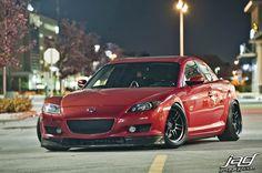 Pinned by http://FlanaganMotors.com. Mazda RX-8 on Enkei wheels