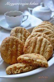 Gesztenye receptjei: Mogyoróvajas keksz
