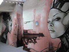 Graff à ICI Montreuil  - MONTREUIL SOUS BOIS - FRANCE