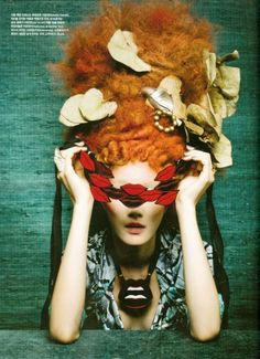 "Vogue Korea August 2012, ""Bird Fantasy"" Photographer: Koo Bon Chang"