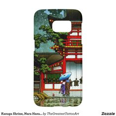 Kasuga Shrine, Nara Hasui Kawase hanga Samsung Galaxy S7 Case