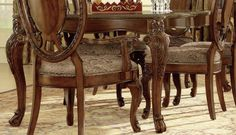 A.R.T. Old World Leg Dining Table in Cherry
