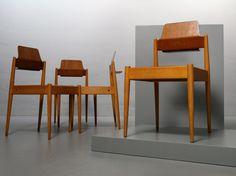 Mid-Century SE119 Church Chair by Egon Eiermann for Wilde & Spieth 2