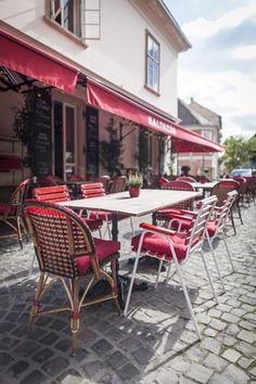 Basic Collection, Baltazár Budapest #baltazar #budapest #restaurant #contractfurniture #spaceplanning #design #red #rattan #rattanfurniture #red #interior #restaurantdesign
