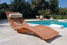 Pool Furniture, Teak Furniture, Woodworking Furniture, Fine Furniture, Furniture Design, Outdoor Furniture, Outdoor Decor, Wood Design, Diy Design