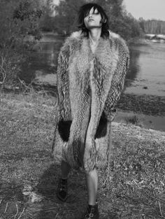 visual optimism; fashion editorials, shows, campaigns & more!: charlotte carey by stefano galuzzi for l'officiel italia december 2014