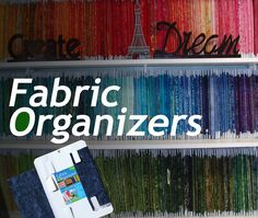 Organizing your fabric stash is easy! Fold, Wrap and Store Sewing Room Design, Sewing Room Storage, Craft Room Design, Sewing Room Organization, My Sewing Room, Craft Room Storage, Fabric Storage, Sewing Rooms, Fabric Organizer
