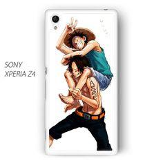 Luffy and Ace One Piece AR for Sony Xperia Z1/Z2/Z3 phonecase