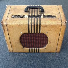 Vintage Valco Chicago Supro 51 Guitar Tube Amplifier