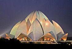 Baha'i Lotus Temple, Delhi, India