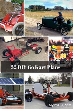 32 DIY Go Kart Plans