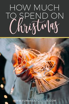 Do you ever wonder how much to spend on Christmas? How much to spend on gifts? How to afford Christmas? This post series breaks it all down for you!
