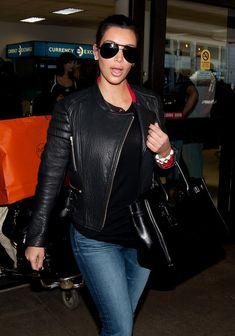 Kim Kardashian - Kim Kardashian Meets Common at the Airport