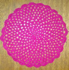 Sousplat estilo mandala pink!