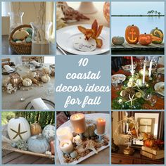 CraftGossip - 10 coastal decor ideas for fall