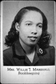[Willie Marshall, Marshall Educator]