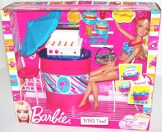 Barbie BBQ Time (Barbie Doll and BBQ Furniture).