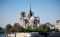 Paris' 850-year-old Notre Dame cathedral to get a new set of bells weighing 23 tons altogether, each of them named after a saint (via Telegraph; photo via ALAMY)