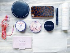 HONEY & SILK: in-flight beauty essentials