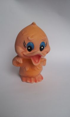 Vintage Rubber Toy Funny Duck Soviet Vintage by TinutesCreations, $13.00