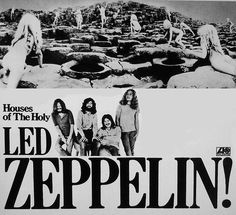 """""""superseventies:  Led Zeppelin, Houses of the Holy promo ad, 1973  """""""
