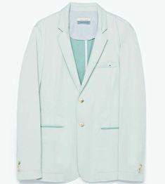 ZARA Green mint blazer men unused selling on ebay  #greenmint #blazermen #zaramen