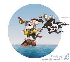 ArtStation - Skully july challenge, Alexey Tarasov