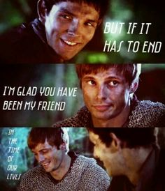 It's been so long since merlin, and yet I still have the same feeling... My heart literally aches.