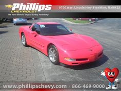 2001 Chevrolet Corvette, Torch Red, 11218397,beautiful, Internet Priced at $23,888.00 ,     http://www.phillipschevy.com/2001-Chevrolet-Corvette-2DR-CPE-Chicago-IL/vd/11218397#