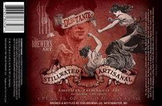 The Pour Curator: More Stunning Artwork by Stillwater Artisanal Ales' Lee Verzosa