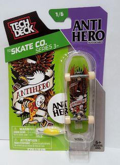Tech Deck TD Skate Co Series 3 AntiHero Skateboards Midlife Crisis Ed 1/6…