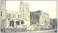 TIL The Regina Cyclone of 1912 remains the deadliest tornado in Canadian history with a total of 28 fatalities. The city forced those rendered homeless by the disaster to pay for the nightly use of cots set up in schools and city parks Canadian History, The Great White, Vintage Comic Books, Down South, The Province, Park City, Scenery, Street View, Tours