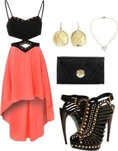#Clubbing #Earrings #Heels #Evening #Purse #NeckLace