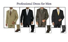 Dress Code for Interview - Interview dress code for men Business Casual Dress For Men, Professional Dress For Men, Business Professional Attire, Business Dresses, Business Fashion, Professional Image, Business Formal, Professional Development, Interview Suits
