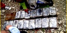 Autoridades anuncian el descubrimiento de drogas ocultas en una caleta subterránea en una finca de San Cristobal