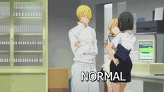 The Difference Between Otakus And Normal People...OMG! HAHAHAHAHAHA what anime is this? I gotta see it