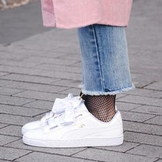 Sneakers women - Puma Basket Heart (©lulandco)