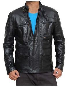 This is the exact same Leather Jacket which is sported by famous movie star Arnold Schwarzenegger in the most current installment of Terminator film franchise, Terminator Genisys. You currently have a golden opportunity to have this distinct Terminator Coat for your self.