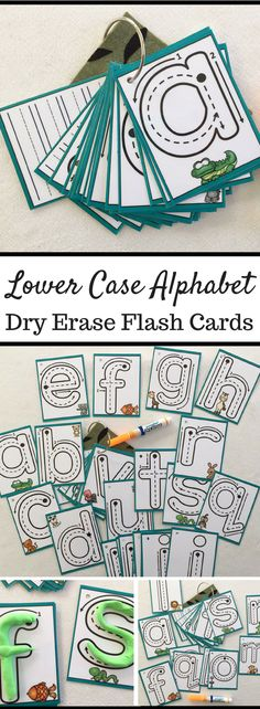 Lower Case Alphabet Flash Cards | Dry Erase Alphabet Cards | Trace and Learn to Write Alphabet Flash Cards #ad #alphabet #flashcards #dryerase #preschool #preschoolers #preschoollearning #preschoollife #learning #learn #kindergarten #teaching #education #teach #teacher #kids #kidsactivities #child #children