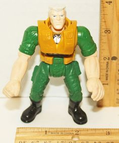 SMALL SOLDIERS CHIP HAZARD TOY FIGURE BURGER KING KIDS MEAL DREAMWORKS 1998 #Dreamworks