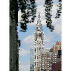 Chrysler Building color photograph by Alex Leykin fine art giclée print for sale. This New York artwork is printed on exhibition fiber photo paper. Fast and free shipping. Two sizes available of this New York artwork print. Prices start from $30.00.