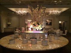 reception decor (Nania's)