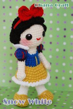Kawaii Snow White-02 by Ohana Craft, via Flickr