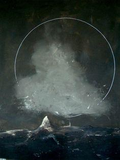 Thomas Zipp, A.B. : White Lightning, Acrylic and oil and canvas, 2005
