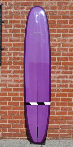 Purple Beauty  Girl With A Surfboard