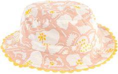 Stella McCartney Kids Printed organic cotton hat
