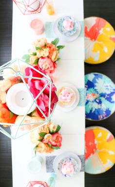 A Kailo Chic Life: Style It - A Geometric Floral Summer Party