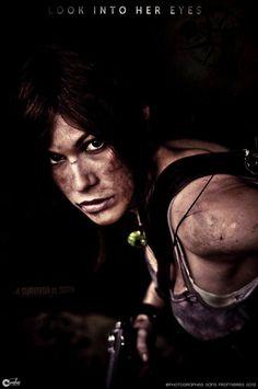 Lara Croft: The eyes of a survivor by ferpsf on DeviantArt