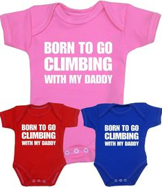 fe6314b5a0451 £5.99 GBP - Babyprem Baby Clothes Fun Climbing Bodysuit One-Piece Vest  Shower Gifts